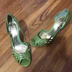 Bakers green sandals